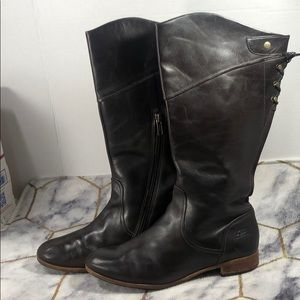 Ugg leather tall boots